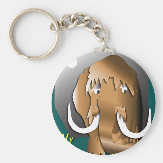 Wooly Keychain