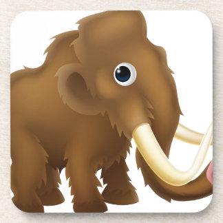 Wooly Mammoth Cartoon Coaster