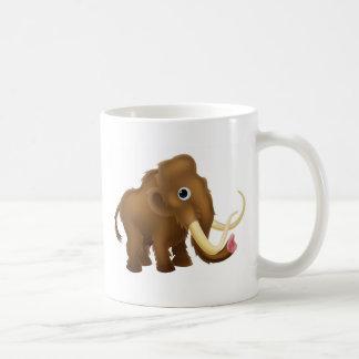Wooly Mammoth Cartoon Coffee Mug