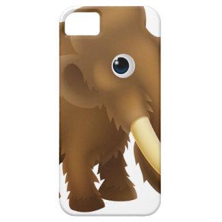 Wooly Mammoth Cartoon iPhone SE/5/5s Case