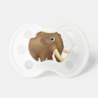Wooly Mammoth Cartoon Pacifier