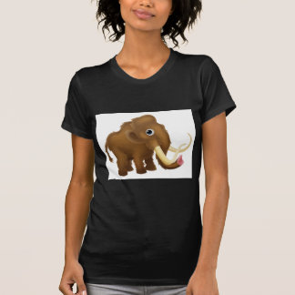 Wooly Mammoth Cartoon T Shirt