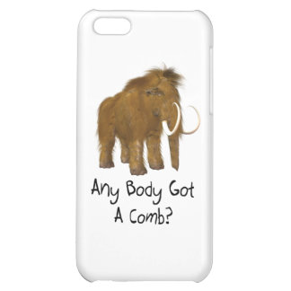 Wooly Mammoth iPhone 5C Case