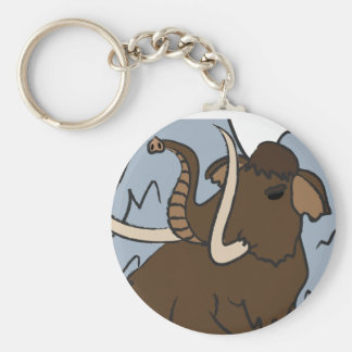 Wooly Mammoth key chain