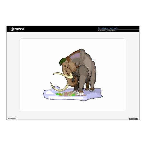 Wooly Mammoth Laptop Skin