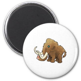 Wooly Mammoth Magnet