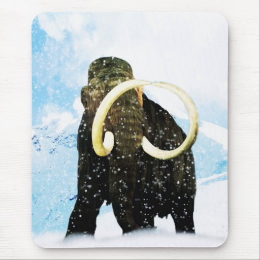 Wooly Mammoth! Mouse Pad