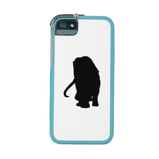 Wooly Mammoth Silhouette Case For iPhone 5