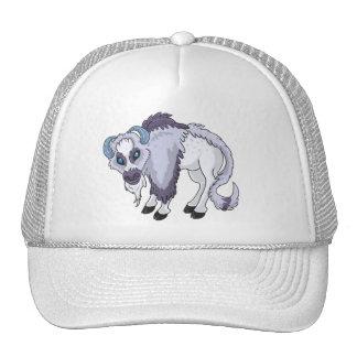 Wooly Purple Buffalo Trucker Hat