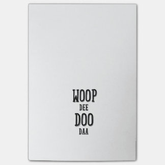 woop de doo da post-it® notes