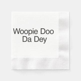 Woopie Doo Da Dey.ai Paper Napkins