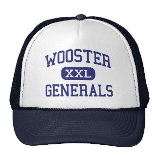 Wooster - Generals - High School - Wooster Ohio Trucker Hats