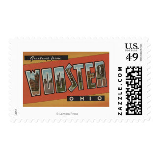 Wooster, OhioLarge Letter ScenesWooster, OH Postage Stamp