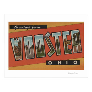 Wooster, OhioLarge Letter ScenesWooster, OH Post Card