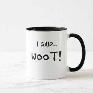 Woot - Binary Coded Mug