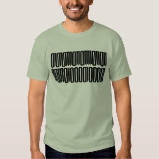 ¡Woot!  Codificado en binario Playeras