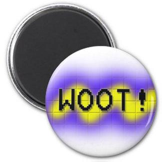 woot imán redondo 5 cm
