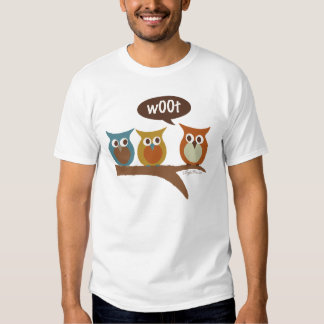 Woot Owls T Shirt