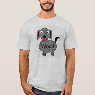 Woot! Puppy Men's Tshirt