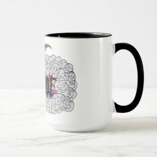 """Woot"" say it with flourish Mug"