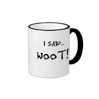 Woot - taza codificada en binario