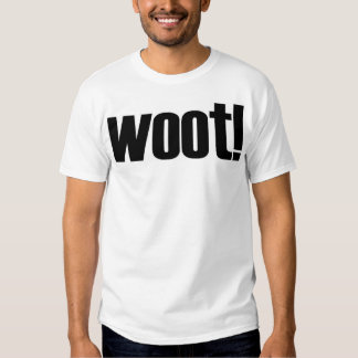woot! With Definition on Back Tee Shirt