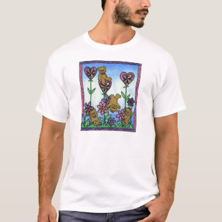 WooWoo Bears in the garden. T-Shirt