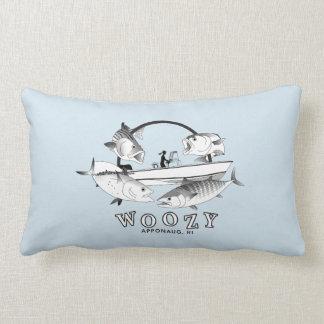 Woozy Seacraft Inshore Grand Slam Lumbar Pillow