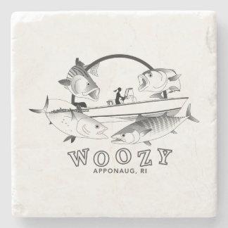 Woozy Seacraft Inshore Grand Slam Stone Coaster