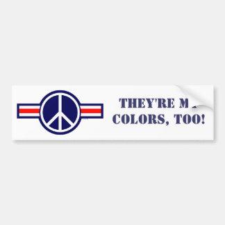 ¡WOP-Corea, son mis colores, también! Pegatina Para Auto