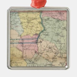 Worcester 2 metal ornament