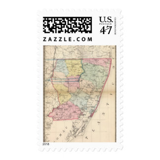 Worcester 2 timbres postales