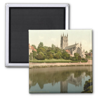 Worcester Cathedral, Worcestershire, England Magnet