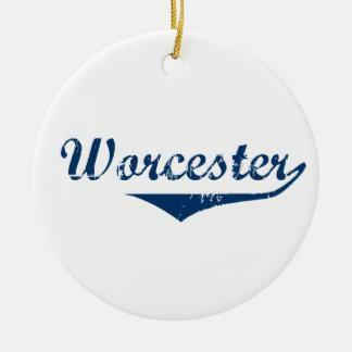 Worcester Ceramic Ornament