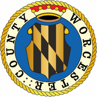 Worcester County seal Cut Outs