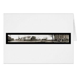 Worcester, MA Main St Photo 1910 Card