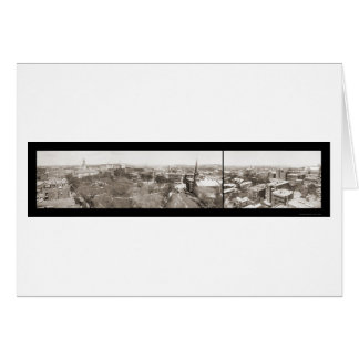 Worcester MA Sky Photo 1910 Card