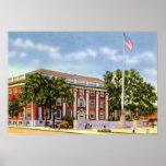 Worcester Massachusetts Lincoln Square Boys Club Print