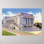 Worcester Massachusetts Memorial Auditorium Poster
