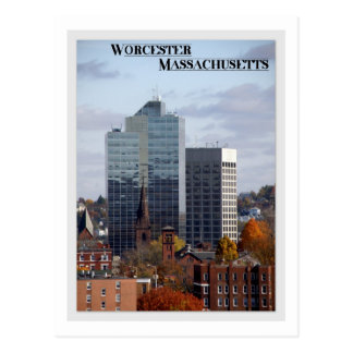 Worcester, Massachusetts Postcard