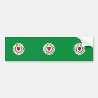 Worcester, Massachusetts, United States Bumper Sticker