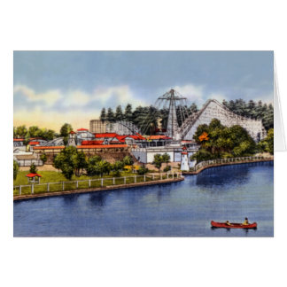 Worcester Massachusetts White City Card