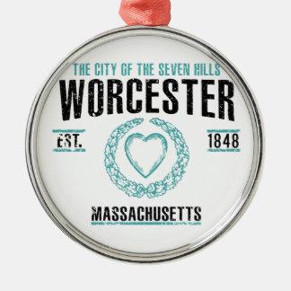 Worcester Metal Ornament