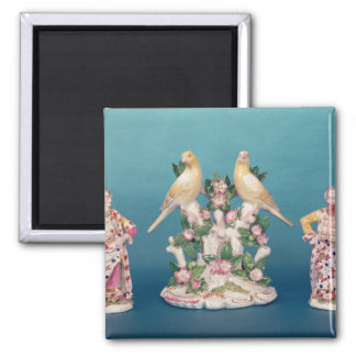 Worcester of Turk and his companion with birds Magnet