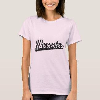 Worcester script logo in black distressed T-Shirt