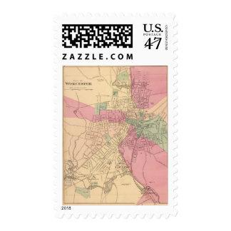 Worcester Sello Postal