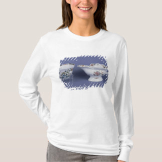 Worcester shaped oval sauce boat and octagonal T-Shirt