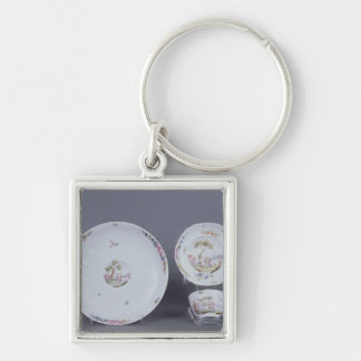 Worcester teabowl and saucer and dish key chains