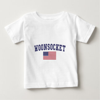 Worcester US Flag Baby T-Shirt