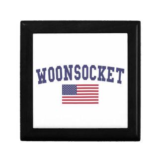 Worcester US Flag Keepsake Box